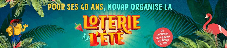 Loterie de l'été Novap