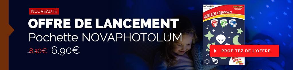 Adhésif photolum