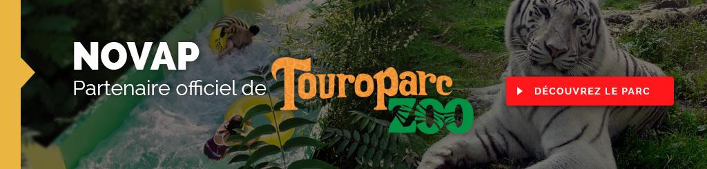 Novap, s'engage pour la nature au près de Touroparc