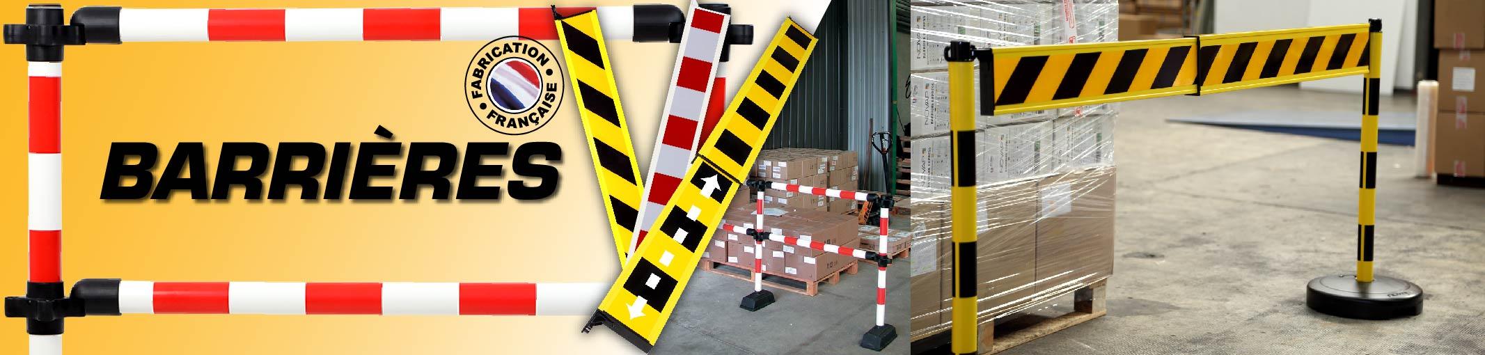 Barrières de signalisation Novap